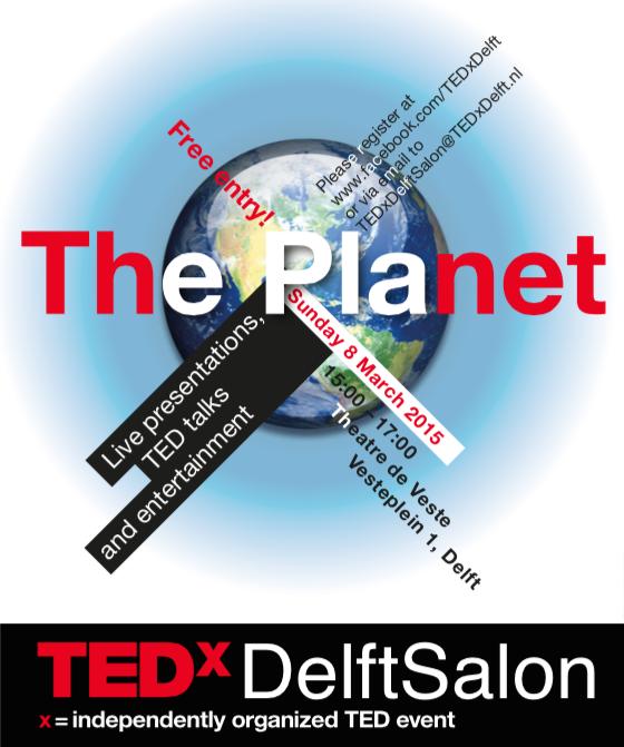 TEDxDelft Salon The Planet