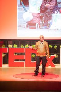 Jamal Mechbal speaks about his homelessness.