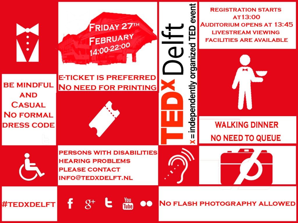 TEDxDelft Info | Event Proper