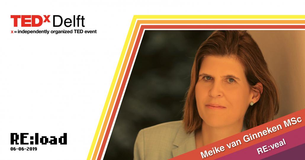 TEDxDelft Meike van Ginneken